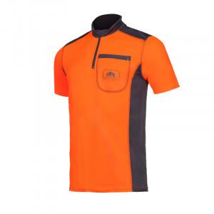 T-SHIRT BICOLOR Orange...