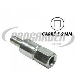 Insert carré 5,2 mm
