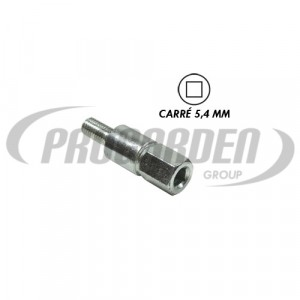 Insert carré 5,4 mm