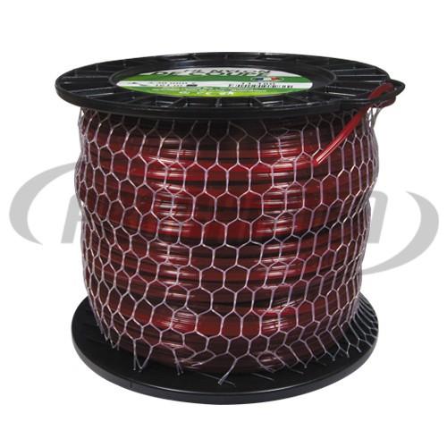 Bobine fil nylon carré (2,0 kg) ø : 3,3 mm