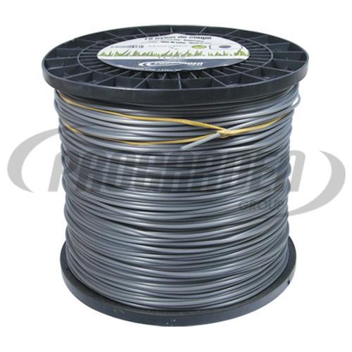 Bobine fil nylon rond (2,0 kg) ø : 2,4 mm