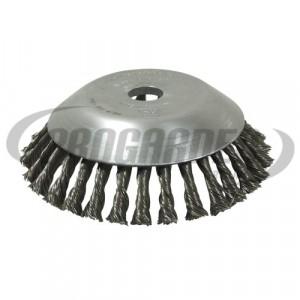 Tête brosse métallique (Alésage 20,0 à 25,4 mm)