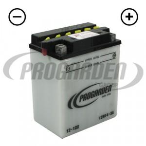 Batterie 12N14-3A (livrée avec acide)