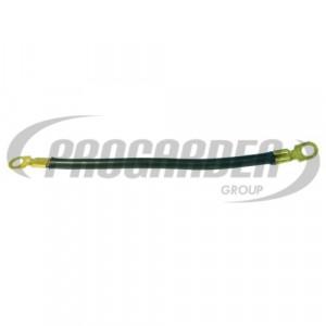 Cable noir avec cosses (20  cm)