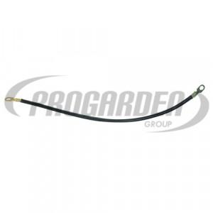 Cable noir avec cosses (50 cm)