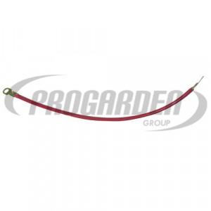 Cable rouge avec cosses (50  cm)