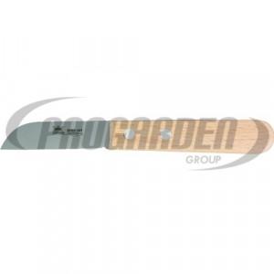 Couteau METALLO 7.5 cm, acier C60, bois