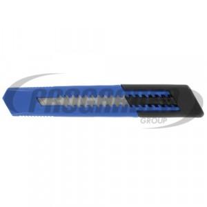 Couteau METALLO 15 cm, bleu/noir