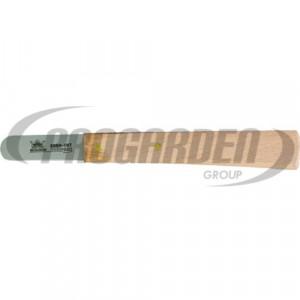 Couteau METALLO 4 cm, acier C60, bout rond, bois