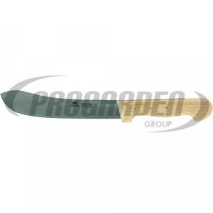 Couteau industriel METALLO 18 cm, acier C60, bois