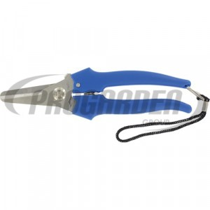 Ciseaux pour le bricolage METALLO 19 cm, bleu