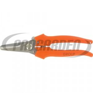Ciseaux pour le bricolage METALLO 19 cm, orange