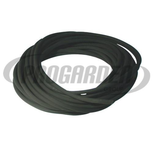 Durite caoutchouc noire ø : 3 mm, long. : 10 m