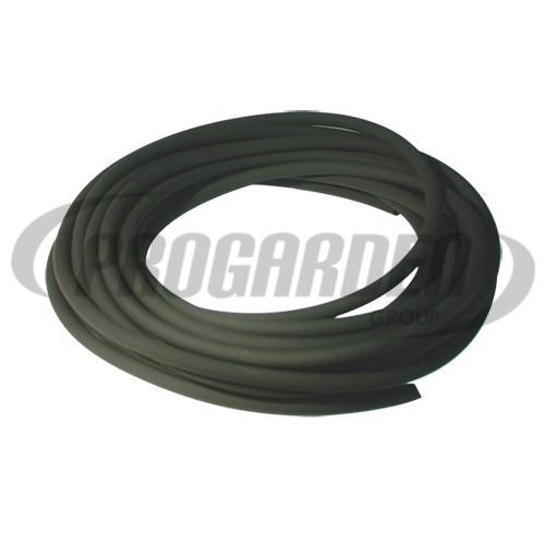 Durite caoutchouc noire ø : 6 mm, long. : 10 m
