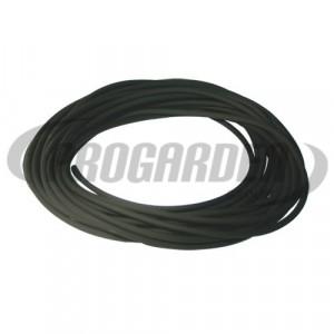 Durite caoutchouc noire ø : 2 mm, long. : 10 m
