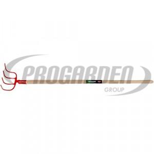 G1-croc à fumier douille 4d 260x210mm a/ma hêtre 1,3m