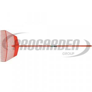 Balai à gazon polyam.600mm pro m/fibre