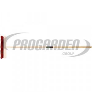 Frottoir bankirai PVC rouge a/ma 1,4m