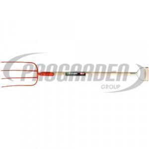 Fourche à fumier 4d 320x220mm ma-D 95cm