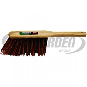 Brosse à main 320mm arenga/elaston rouge