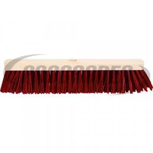 Balai jardin-terrasse PVC rouge