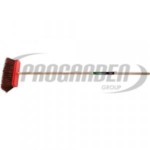 Balai canton.300mm FSC 100% bahia/PVC a/ma 1,5m