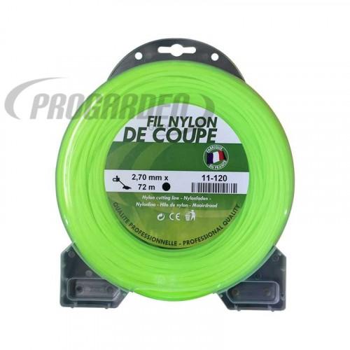 Coque fil nylon rond (1/2 kg) ø : 2,7 mm