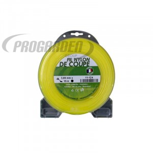 Blister fil nylon rond (15m) ø : 3,0 mm