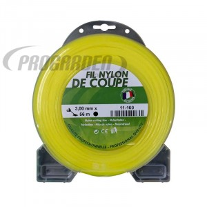Coque fil nylon rond (1/2 kg) ø : 3,0 mm