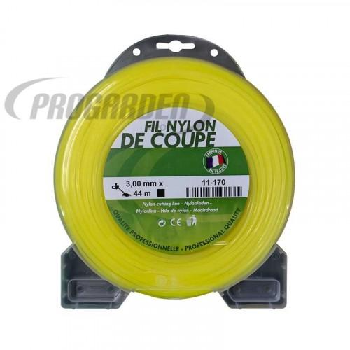 Coque fil nylon carré (1/2 kg) ø : 3,0 mm