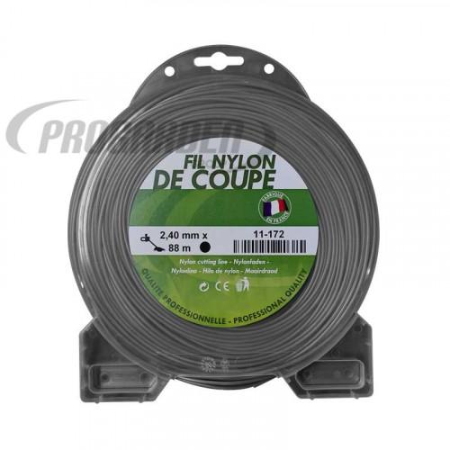 Coque fil nylon rond (1/2 kg) ø : 2,4 mm