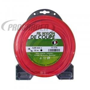 Coque fil nylon rond (1/2 kg) ø : 4,0 mm