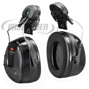 Coquilles ProTac™ III, version Slim, attache casque, noir
