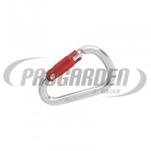 Frelon mousqueton triple action aluminium ouverture 23mm MILLER