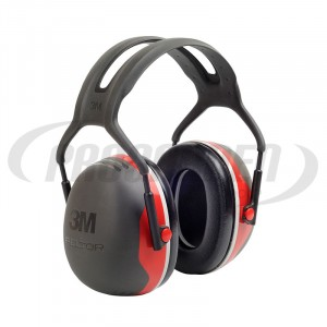 Casque antibruit Peltor X3 rouge
