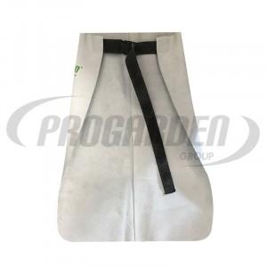 Tablier cuir ceinture