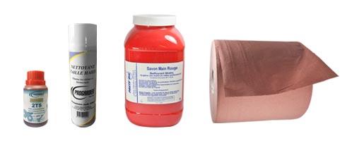 Produits et nettoyants